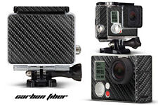 Skin Stickers for GoPro Hero 3+ Camera & Case Decal HERO3+ Go Pro CARBON FIBER