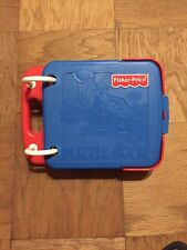 FISHER PRICE PUZZLE BOOK HARD PLASTIC PAGES BOOK ONLY