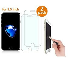 "iPhone 7 Plus 5.5 "" Tempered Glass Screen Protector 2 Pack Mobile Accessories"