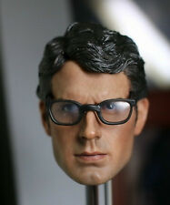Custom made Henry Cavill man of steel clark kent Superman 1/6 w/ glasses