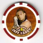JEFF HARDY 2007 WWE CHIPZ Poker Style Chip *Ultra Rare & Hard To Find!*