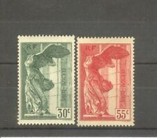"""FRANCE STAMP TIMBRE N° 354/55 """"VICTOIRE SAMOTHRACE DU LOUVRE 1937"""" NEUFS xx SUP"""