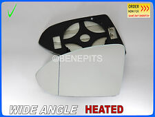 Wing Mirror Glass VW GOLF MK VII 2013-2017 Wide Angle HEATED Left  #1062