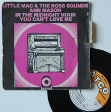 "Vinyle 45T Little Mac & the Boss Sounds / Ann Mason ""In the midnight hour"""