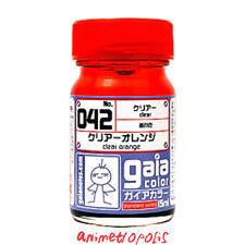 GAIA COLOR 042 Clear Orange GUNDAM MODEL KIT LACQUER PAINT 15ml NEW Free Ship