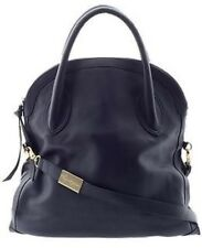 Foley & Corinna Framed Convertible Handbag Navy Blue