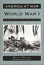 World War I (America at War (Facts on File)), Very Good Books