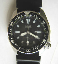 Stunning Men SEIKO Submariner Scuba 150M Diver's Automatic Wrist Watch JAPAN