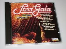 STAR GALA 20 JAHRE SUPERHITS CD MIT SHOWADDYWADDY / RUBETTES / TROGGS / SMOKE