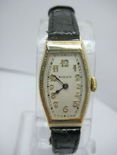 Rolex Art-Deco 9carat Yellow Gold Ladies Mechanical Used Watch
