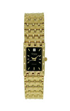 Caravelle by Bulova Diamond 44P19 Women's Rectangular Black Analog Watch