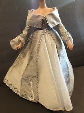 """Tonner Wizard Of Oz Griffin Splendor EMBROIDERED SILVER BALLGOWN 16"""" Doll Outfit"""
