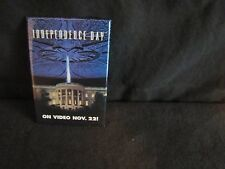 VERY RARE- 1996 INDEPENDENCE DAY MOVIE PIN - Video Release Date promo pin