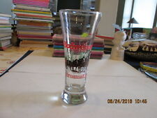 1 only vintage 1988 BUDWEISER Christmas CLYDESDALES Pilsner glass ANHEUSER-BUSCH