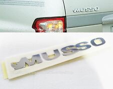 OEM Ssangyong Musso Logo Rear Tail Trunk Emblem Musso (Sports) #7991205200