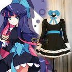 Panty & Stocking Vogue Women Lady Dress Party Fashion Anime Cosplay Costume Gift