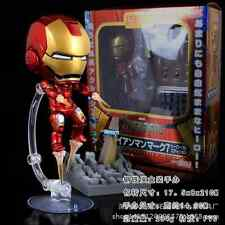 "4""Hero's Edition Nendoroid Series Q284 Avengers Iron Man Mark 7 Action Figure-!!"