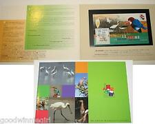 Hong Kong 2001 stamp exhibition S/S #1 Presentation Pack`