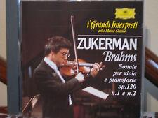 ZUKERMAN-Brahms sonate viola piano -Grandi interpreti-DEUTSCHE GRAMMOPHON-DeAgo