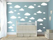 31pcs/set DIY Big Clouds 4-10 inch Wall Sticker Removable Wall