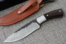 High quality  High-carbon Steel Handmade Forged Damascus Hunting knife H-002