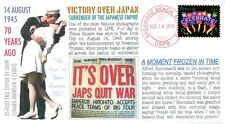 """""""COVERSCAPE computer designed 70th anniversary of Victory Over Japan event cover"""