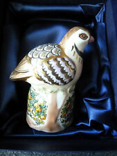 ROYAL WORCESTER MILLENNIUM LTD. EDITION PARTRIDGE IN PEAR TREE CANDLE SNUFFER