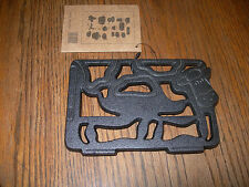 Old Mountain Cast Iron COW  Trivet Home & Camping  Collectible #10190