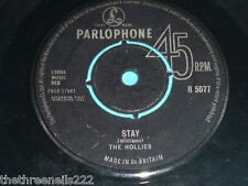"VINYL 7"" SINGLE - THE HOLLIES - STAY - R 5077"