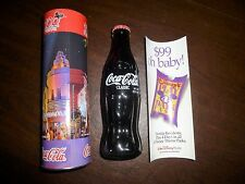 Disney 100 Years of Magic 8 oz Coca Cola Bottle in decorated tube-2001-