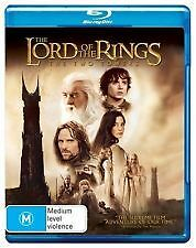 THE LORD OF THE RINGS: THE TWO TOWERS BLU RAY - NEW & SEALED PETER JACKSON