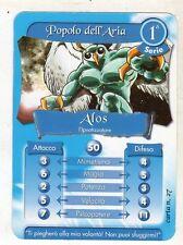 figurina - CARD GORMITI - SERIE 1 ALOS