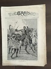 """""""THE GRAPHIC"""" (A Beautifully Illustrated British Weekly Newspaper)- Jan 12, 1881"""