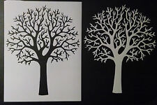 "Large Beautiful Country Primitive Tree 8.5"" x 11"" Custom Stencil FREE SHIPPING"