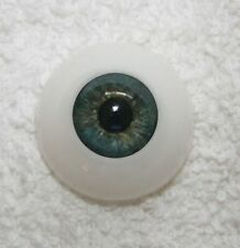 ~EyEcO EyEs PoLyGLaSs Eyes WoOdLaNd GrEeN 22MM ~ REBORN DOLL SUPPLIES