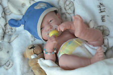 PJs ♥ TEDDY ♥ BERENGUER LA NEWBORN ♥ MANY EXTRAS ♥ BABY BOY DOLL 4 REBORN / PLAY