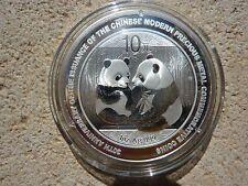 Chine 10 Yuan Panda Argent 1 oz Silver 2009 Anniversaire