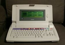 RARE Vintage Brother LW-810ic Electronic Typewriter Word Processor COLLECTORS