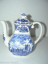 CAFETIERE  PORCELAINE ROYAL HOMES  BRITAIN ENOCH WEDGWOOD VINTAGE CERAMIQUE XX