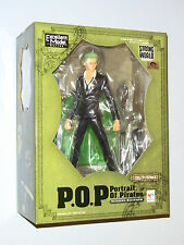 Megahouse One Piece P.O.P Roronoa Zoro Ver.2 Strong Edition 1/8 PVC Figure NEW