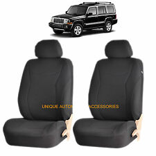 BLACK SPEED AIRBAG COMPATIBLE LOWBACK SEAT COVERS for JEEP CHEROKEE WRANGLER