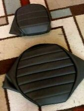 HONDA VT1100 Shadow 1989-1996 2 Piece Pleated Custom Made Motorcycle Seat Cover