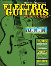 Blue Book Of Electric Guitars 15th Edition Zachary Fjestad 1408 Pages! Book NEW!