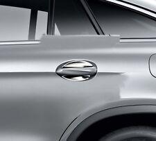 2 orig Mercedes Tür Griff Schale chrom Griffschale Tuer vorn  hinten klein PKW