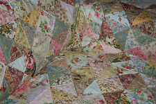 "SHABBY CHICK - 53"" x 53"" - Pre-cut Quilt Kit by Quilt-Addicts Lap size"