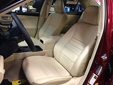 Toyota Camry LE/LE Hybrid 2015 OE Replace Leather Exact Fit Seat Cover Kit
