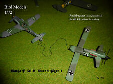Gotha P.56-2 Parasitjäger 1    1/72 Bird Models Resinbausatz/resin kit
