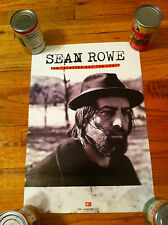 SEAN ROWE The Salesman And The Shark Concert Tour Music Poster Promo Rock Pop