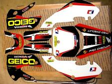 Klx 110 02-09 kx 65 02-16 Kawasaki Graphics only kit Geico Honda