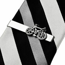 Bicycle Tie Clip - Tie Bar - Tie Clasp - Business Gift - Handmade - Gift Box